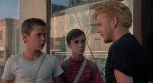 Kiefer Sutherland, Corey Feldman und Wil Wheaton