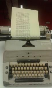 """Schreibmaschine aus """"The Shining"""""""