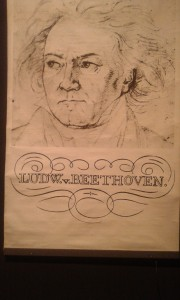"Beethoven-Poster aus ""A Clockwork Orange"""