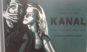 """Plakat zu Andrzej Wajdas Film """"Kanal"""""""