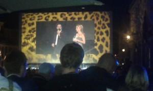 Eröffnungszeremonie des Filmfestivals Locarno