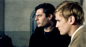 """Marcello Mastroianni und Jacques Perrin in """"Cronaca familiare"""""""