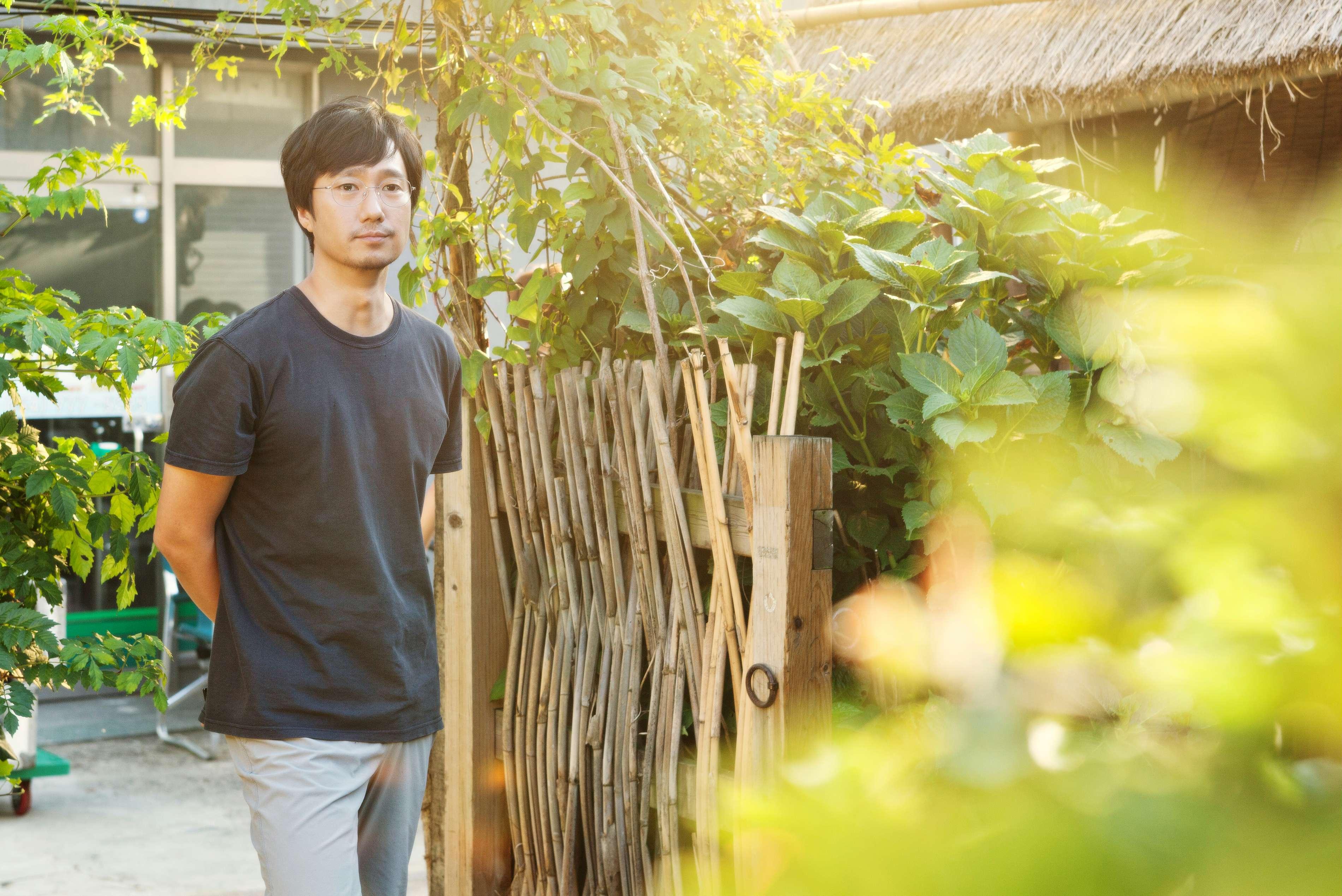 """Der Garten des Teehauses von """"Gyeongju"""""""