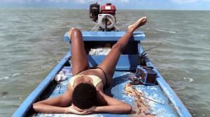 """Das ominöse Boot in """"Ventos de Agosto"""""""
