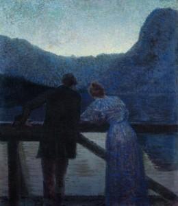 Paar am See, Ernst Stöhr 1897-1903