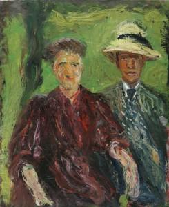 Paar im Grünen, Richard Gerstl 1908