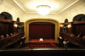 Historischer Saal des Metro Kinos