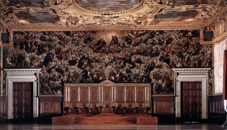 Das Paradies von Jacopo Tintoretto