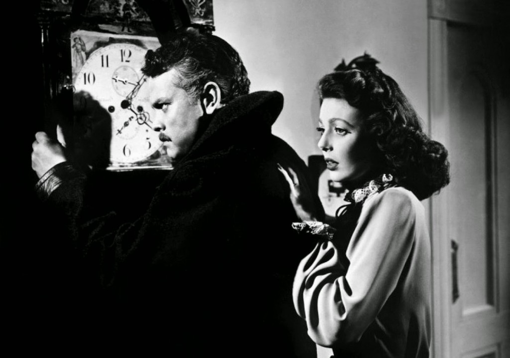 Orson Welles und Loretta Young