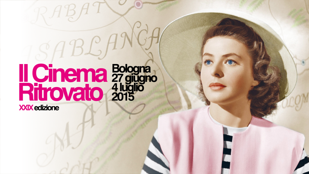 Sujet Il Cinema Ritrovato 2015